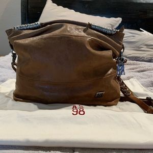 A.S.98 Bags - A.s.98 Always Embellished Hobo